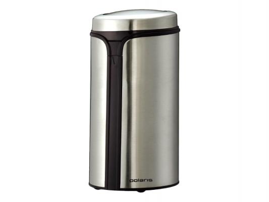 Кофемолка Polaris PCG 0815A 150Вт серебристый