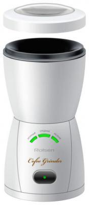 Кофемолка Rolsen RCG-150L 200 Вт белый