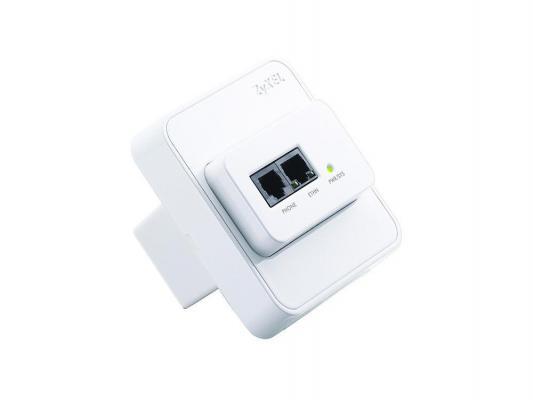 Точка доступа ZyXEL NWA1300-NJ (SINGLE-PACK) 802.11n 150Mbps 2.4GHz zyxel gs1100 16