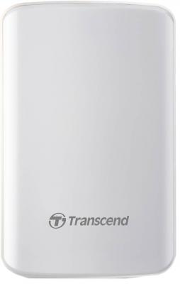 Внешний жесткий диск Transcend StoreJet 25D3 1Tb TS1TSJ25D3W White <2.5, USB3.0> usb 3 0 transcend ts32gjf700 в белгороде