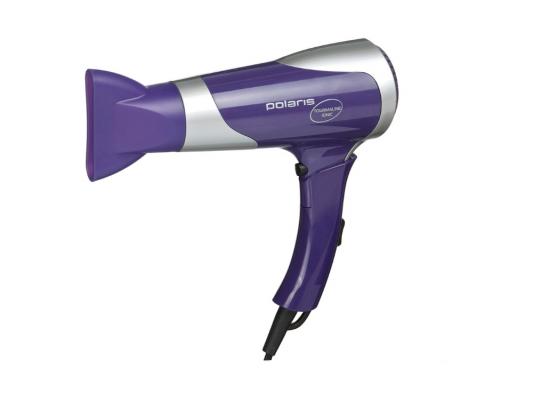 Фен Polaris PHD 1667TTI фиолетовый bosch phd 3300 фен для волос blue