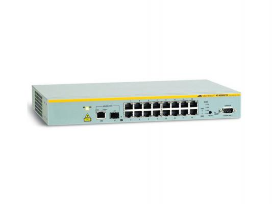 Коммутатор Allied Telesis (AT-8000S/16) 16 Port Managed Fast Eth with One 10/100/1000T/ SFP Combo