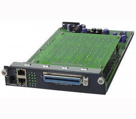 Модуль Zyxel AAM-1212-53 12-портовый ADSL2+ (Annex B) со встроенными сплиттерами