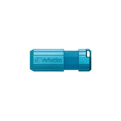 Флешка USB 16Gb Verbatim Store 'n' Go PinStripe 49068 USB2.0 синий флешка verbatim store n go pinstripe 16 гб pink 709141