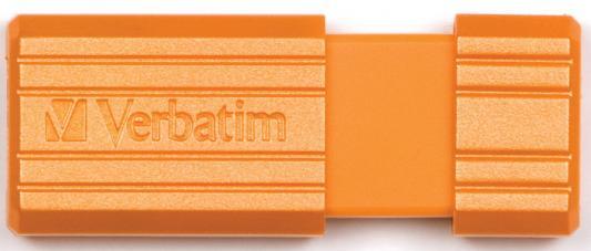 Флешка USB 16Gb Verbatim Store 'n' Go PinStripe 49069 USB2.0 оранжевый флешка verbatim store n go pinstripe 16 гб pink 709141