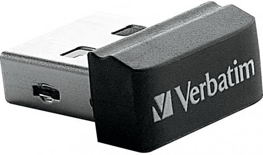Флешка USB 32Gb Verbatim Store 'n' Stay NANO 98130 USB2.0 черный