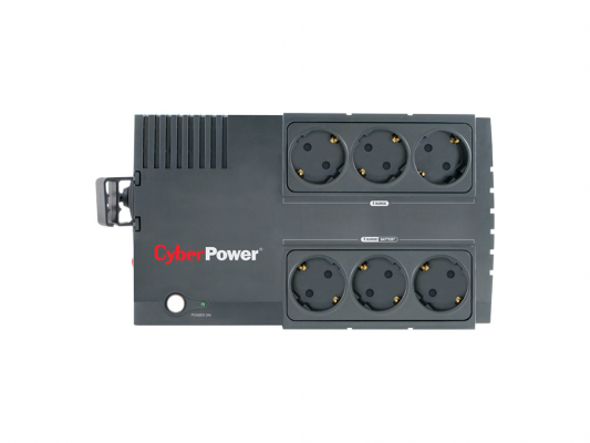 ИБП CyberPower 850VA BS 850E черный