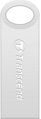 Внешний накопитель 8Gb USB Drive <USB 2.0> Transcend TS8GJF520S Silver флешка usb 8gb transcend ts8gjf520s серебристый