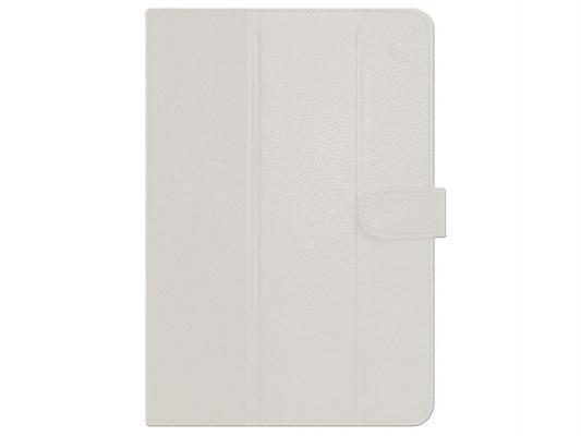 Чехол GoodEgg Flex для планшета универсальный с диагональю 8 кожа белый GE-UNI8FLEXWHT