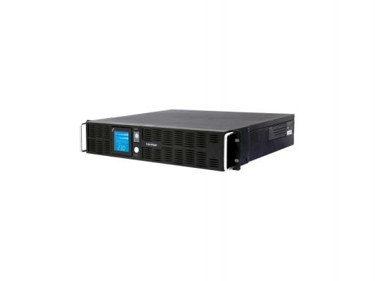 ИБП CyberPower 2200VA PR 2200 LCD 2Unit line-interactive PR2200ELCDRT2U черный ибп eaton 5px 2200i rt2u 2200va line interactive 5px2200irt