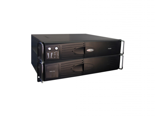 ИБП CyberPower 3000VA PR 3000 LCD 2Unit line-interactive PR3000ELCDRT2U черный