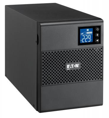 Источник бесперебойного питания Eaton 5SC 1000 VA Tower 1000VA черный источник бесперебойного питания irbis optimal 1000va isn1000eti isn1000eti