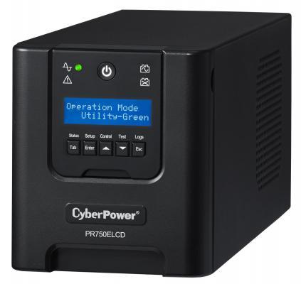 ИБП CyberPower 750VA PR750ELCD черный