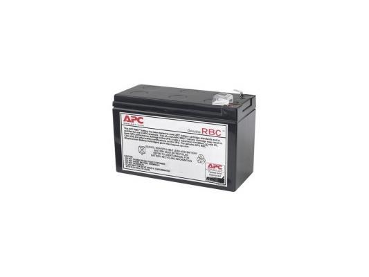 Комплект батарей APC APCRBC110 сменный для ИБП АРС BE550G-RS, BR550GI, BR650CI-RS ибп apc bc750 rs