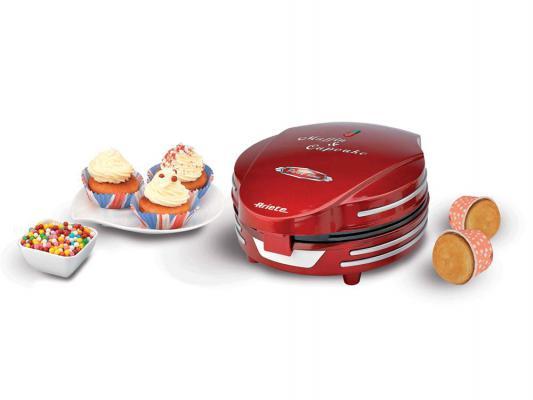 Прибор для приготовления кексов Ariete Muffin Cupcake Party Time 188 красный