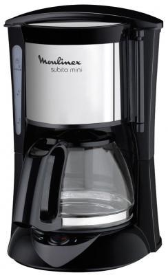 Кофеварка Moulinex FG 1518 капельная 600Вт 1л черный