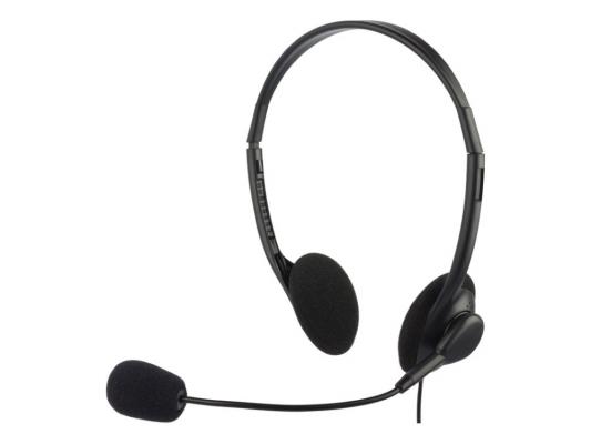 Проводная гарнитура Oklick HS-M143VB rock y10 stereo headphone earphone microphone stereo bass wired headset for music computer game with mic