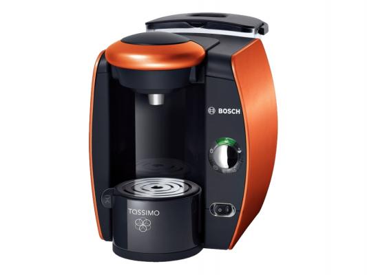 Кофемашина Bosch TAS4014EE Tassimo 1300Вт 2л черно-оранжевый