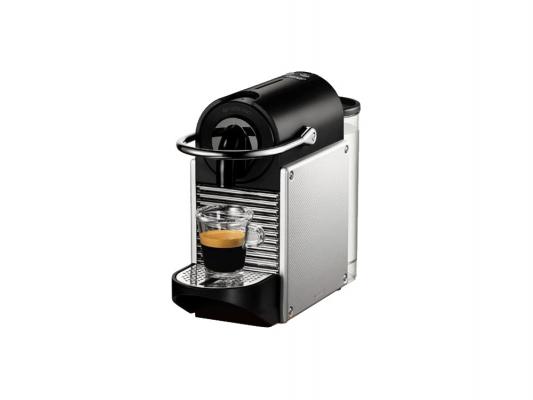 Кофеварка DeLonghi PIXIE EN 125.S серебристый кофемашина delonghi ecam 45 760 w белый
