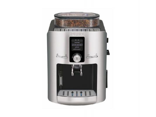 Кофемашина Krups EA826 1450Вт 1.8л черный кофеварка рожкового типа krups xp344010