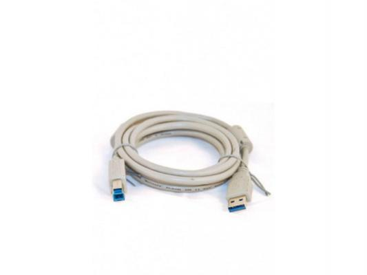 Кабель Belsis USB3.0 A вилка-USB B вилка c ф/фильтрами, длина 1.8 м. BW1414 сетевые фильтры belsis сетевой удлинитель 4 розетки 4 usb порта длина 1 500