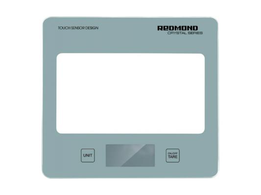 Электронные кухонные весы Redmond RS-724 серый кухонные весы redmond rs 736 полоски