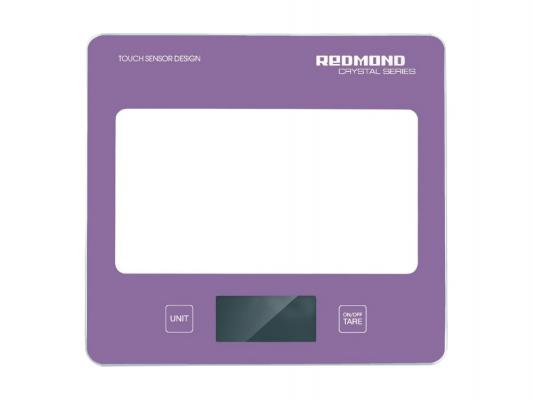Электронные кухонные весы Redmond RS-724 черный весы кухонные электронные redmond rs 724