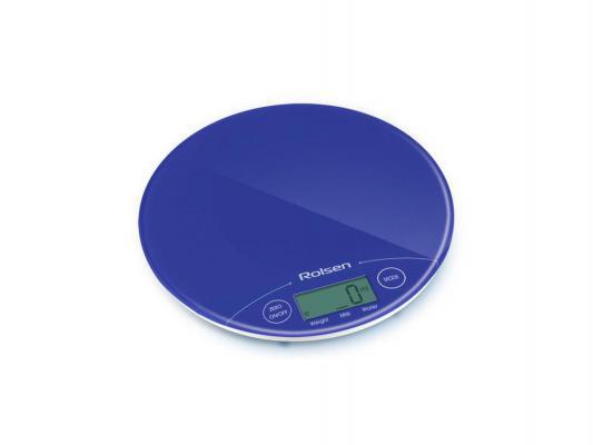 Электронные кухонные весы Rolsen KS2906 синий