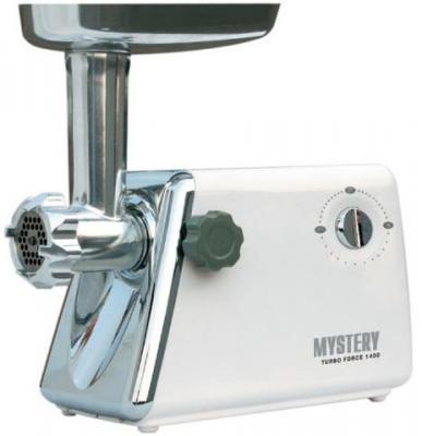 Электромясорубка MYSTERY MGM-1450 1400 Вт белый