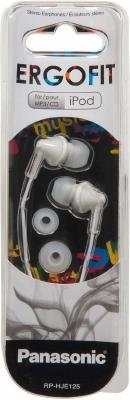 Наушники Panasonic RP-HJE125E-W белый наушники panasonic rp hf100gc w накладные белый проводные