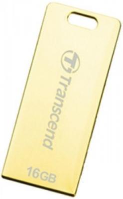 Флешка USB 16Gb Transcend Jetflash T3G TS16GJFT3G золотистый