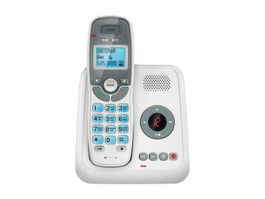 Р/Телефон Dect Texet TX-D6955A белый автооветчик телефон проводной texet tx 201 белый