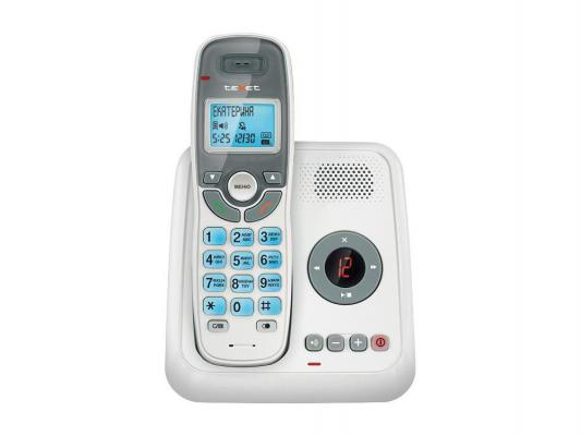 Р/Телефон Dect Texet TX-D6955A белый автооветчик телефон texet tx 201