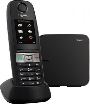 Р/Телефон Dect Gigaset E630 черный IP65 (пылевлагозащищенный, ударопрочный) ip телефон gigaset a540 ip