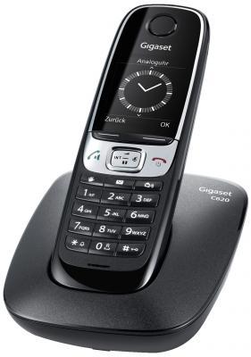 Р/Телефон Dect Gigaset C620 черный gigaset gigaset c620