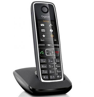 Фото Р/Телефон Dect Gigaset C530 черный телефон dect gigaset l410 устройство громкой связи