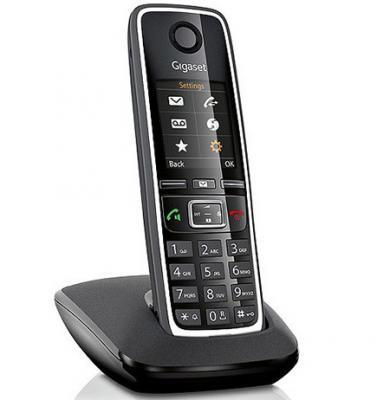 Р/Телефон Dect Gigaset C430 черный проводной и dect телефон gigaset c810a siemens c810aip