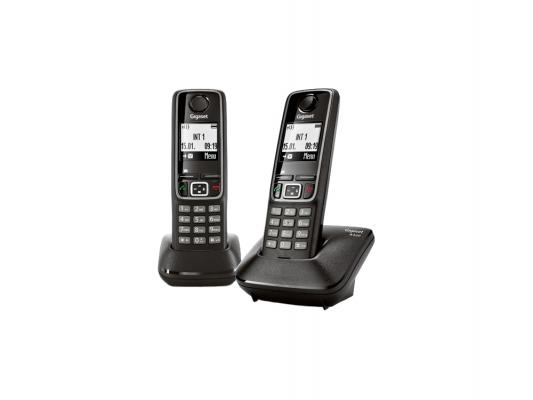 Купить Р/Телефон Dect Gigaset A420 DUO WHITE белый 2 трубки