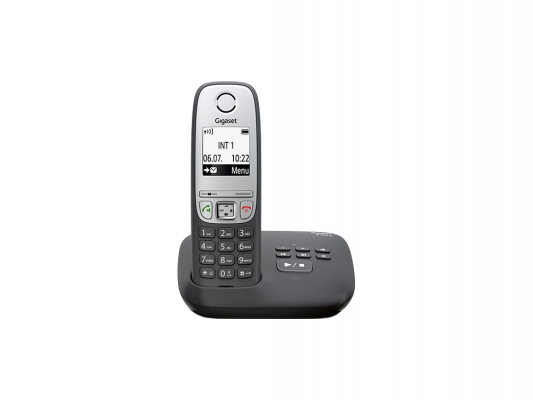 Р/Телефон Dect Gigaset A415 черный р телефон dect gigaset c530 черный