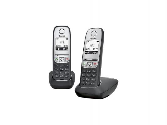 Купить Р/Телефон Dect Gigaset A415 DUO черный 2 трубки