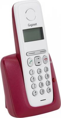 Р/Телефон Dect Gigaset A130 BORDEAUX белый/бордовый картридж новая вода к 100