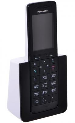 Р/Телефон Dect Panasonic KX-PRS110RUW черный/белый