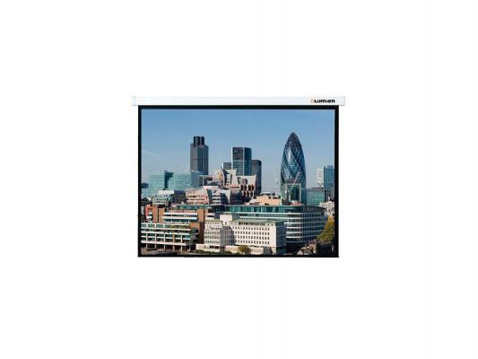 лучшая цена Экран настенный моторизированный Lumien LMC-100103 203 x 203 см