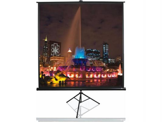 "Экран напольный Elite Screens T85UWS1 85"" 1:1 152x152cm тринога MW черный elite screens sableframe er110wh1"