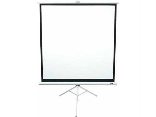 Экран напольный Elite Screens T113NWS1 113 1:1 203x203cm тринога MW белый экран настенный elite screens 152x152см m85xws1 ручной mw белый