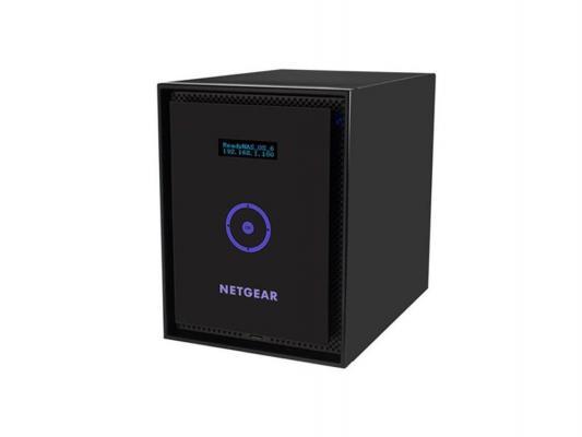 Сетевое хранилище NETGEAR ReadyNAS RN31600-100EUS 6x2.5/3.5 SATA/SSD HotSwap 1xUSB2.0 2xUSB3.0 2xGbLAN
