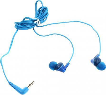 Наушники-затычки Panasonic RP-HJE125E-A синий наушники panasonic rp hje125e w вкладыши белый проводные