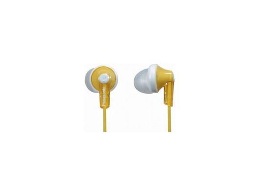 Наушники-затычки Panasonic RP-HJE118GUY желтый наушники panasonic rp hje118guy желтый