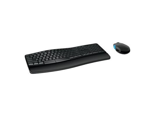 Клавиатура + мышь Microsoft Sculpt Comfort Desktop L3V-00017 USB черный