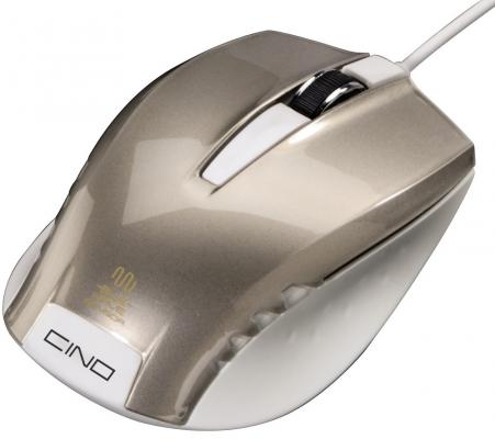 лучшая цена Мышь проводная HAMA Cino серый USB H-53868